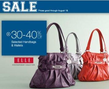 handbags savings