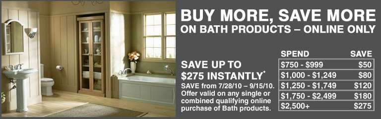 Buy More, Save More with Home Depot