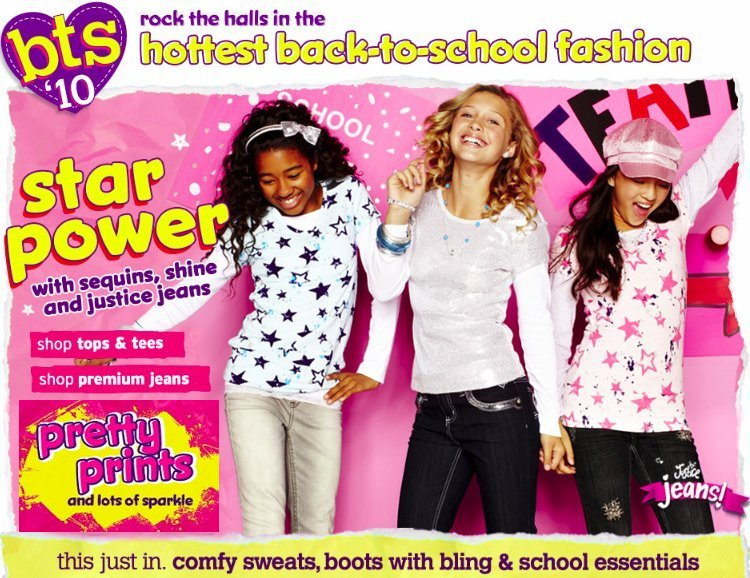 justice back to school fashion