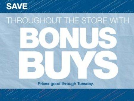 kohls bonus buys