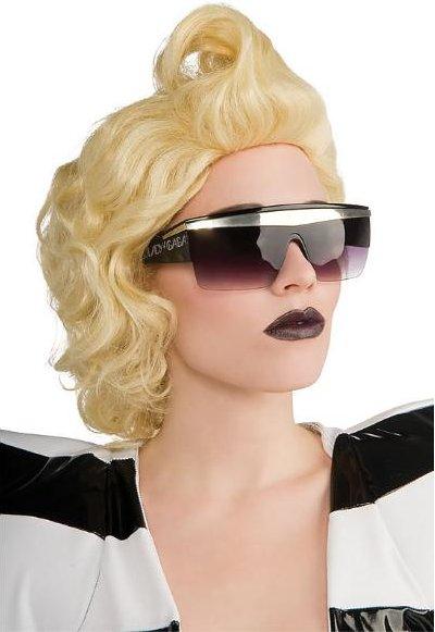 Lady Gaga Retro Black Glasses