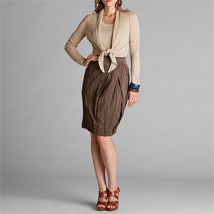 Lafayette 148 Sleek Cloth Skirt