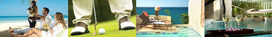 Luxury included in Sandal Vacations