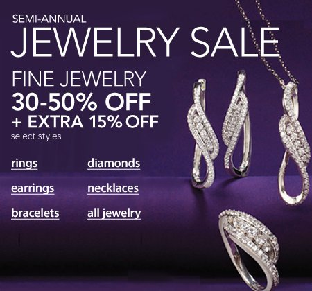 macys jewelry sale macy s semi annual jewelry sale get 30 50 15 820