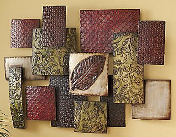 Metal Puzzle Wall Art