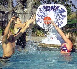 Poolmaster  Poolside Basketball System