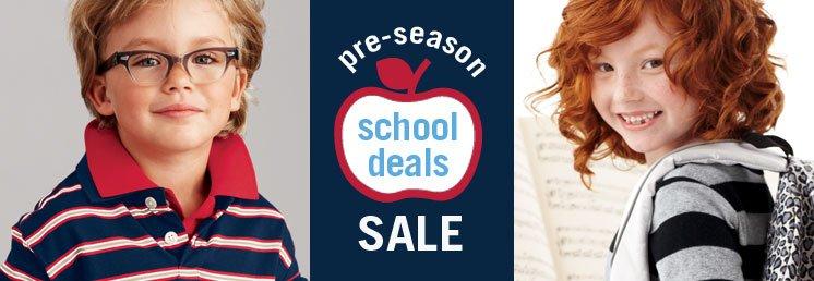 pre season school deals