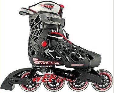 Roller Derby Boys Web Stinger Adjustable Inline Skates