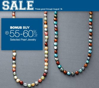 savings on pearl jewelry