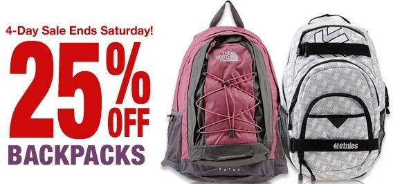 shoemall backpack sale