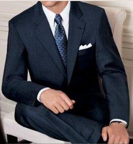 Signature Merino Wool 2-Button Wool Suit