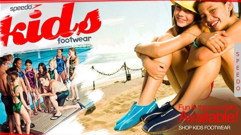 speedo kids footwear