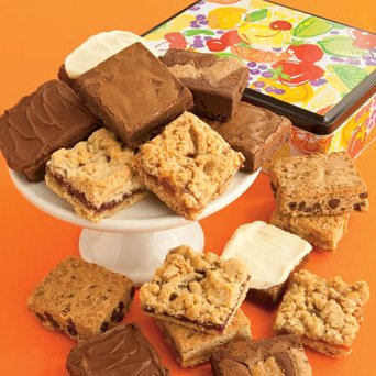 Summer Sensation Tin-Brownies
