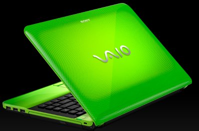 VAIO EA Series Laptop (Caribbean Green)