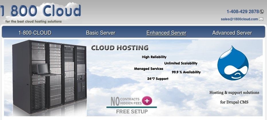 1800cloud: The Best Cloud Hosting Solutions