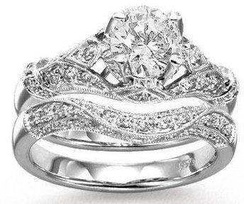Diamond Harmony Bridal Set