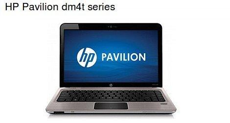 HP Pavilion dm4t series