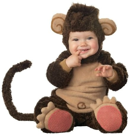 Lil' Monkey Elite Collection Infant Costume