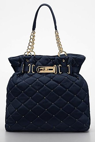 PARADOX Studded Quilted Tote