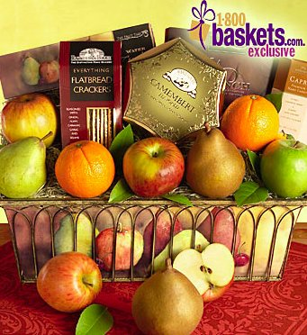 Parisian Fruit Gift Basket