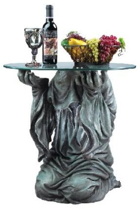 The Creeper Glass-Topped Sculptural Table