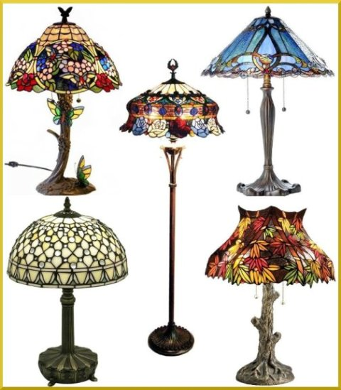 Tiffany-style Lamps