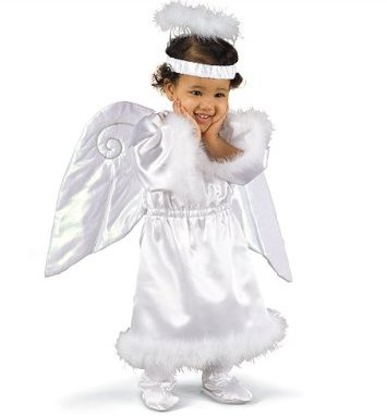 Angel Costume with Booties