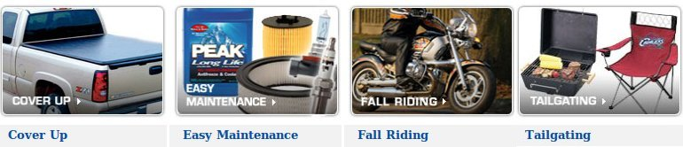 Fall Driving Parts and Accessories