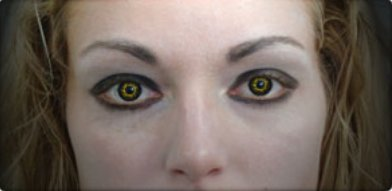 Black Wolf Contact lens