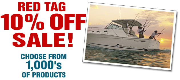 Boaters World Red Tag sale