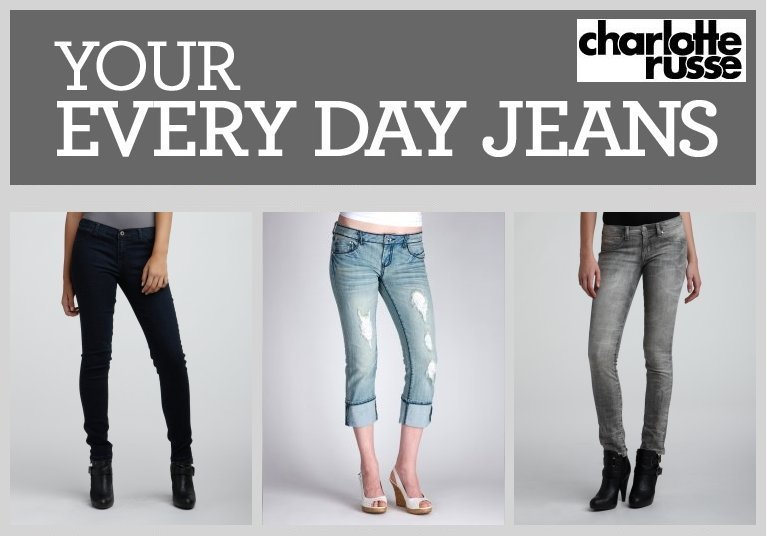 Charlotte Russe Everyday Jeans with Savings