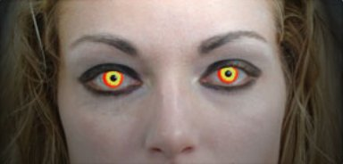 Darth Contact Lens