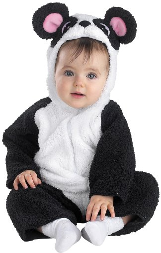 Disguise Fuzzys Infant Petite Panda