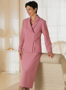 Feminine Two-Piece Suit