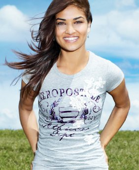 Aeropostale girl graphic T