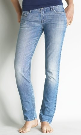 Light Wash Bling Skinny Jean