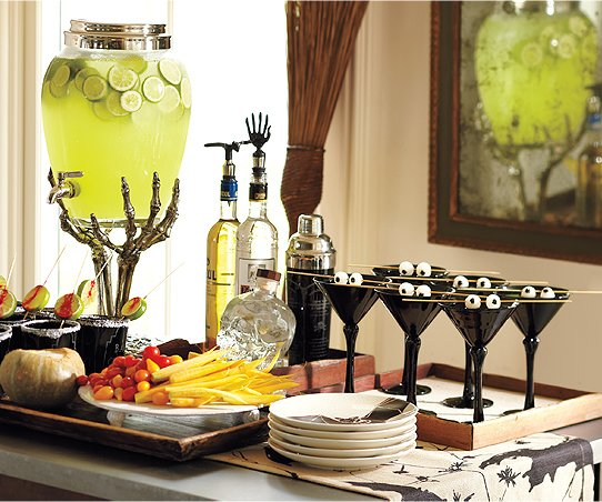Serve your Guests with Pottery Barn's Halloween Party Supplies