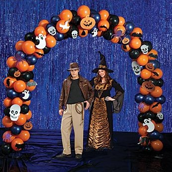 Halloween Radiant Balloon Arch