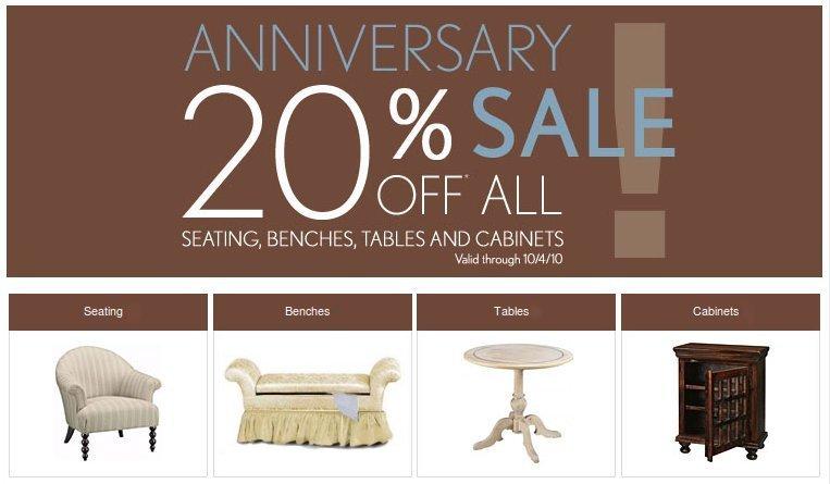 Home Decorators Collection Anniversary Sale