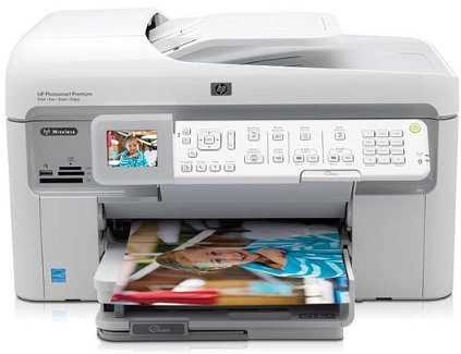 hp photosmart c309a premium fax all-in-one printer
