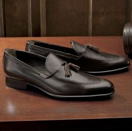 Italian Leather Tassel Loafer