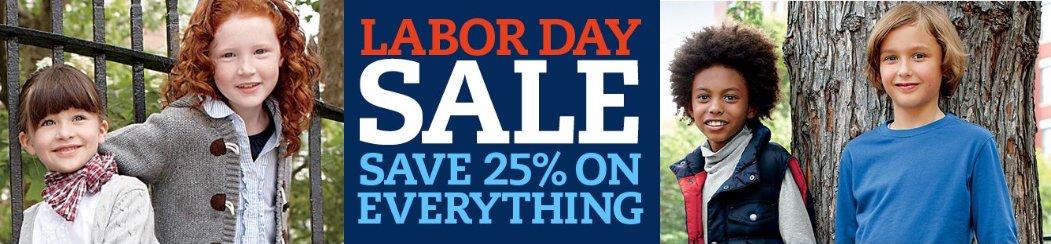 Lands End Labor Day Sale