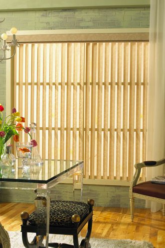 Levolor Premierlines Free-hanging Fabric Vertical Blinds