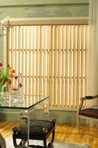 Levolor Premierlines Free-hanging Fabric Vertical Blinds