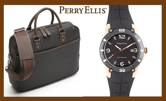 Perry Ellis Men's Fashion Accessories