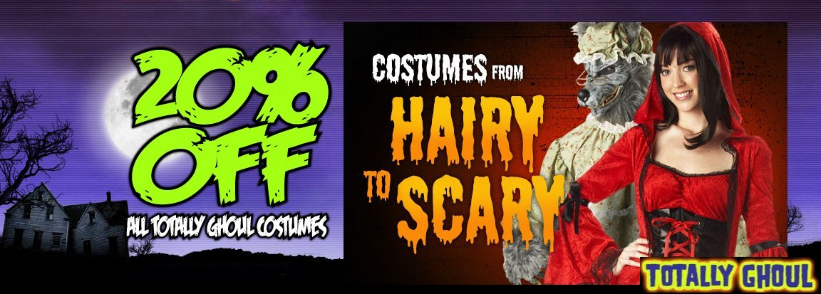 Sears Totally Ghoul Halloween Costumes