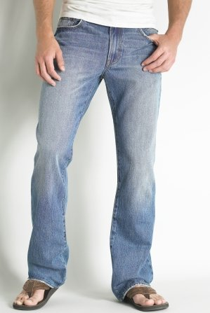 Slim Bootcut Medium Wash Jean