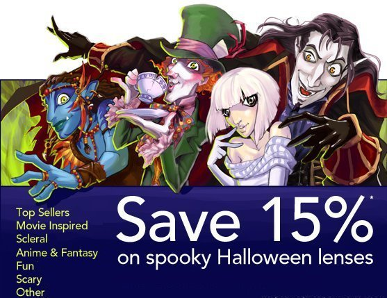 Spooky Halloween Lenses