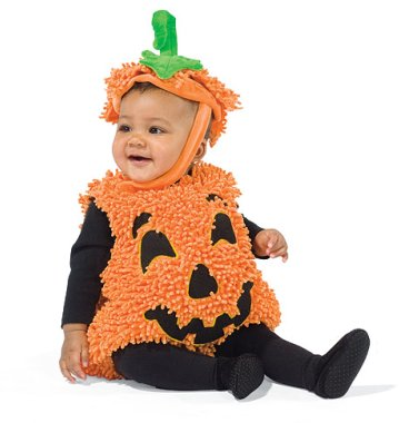 Baby/Toddler Pumpkin Halloween Costume Bubble Suit