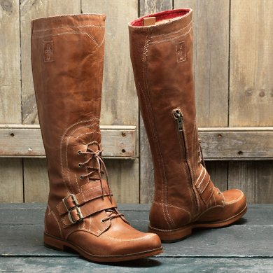 Women's Lucille Buckle and Zip-Up Boot